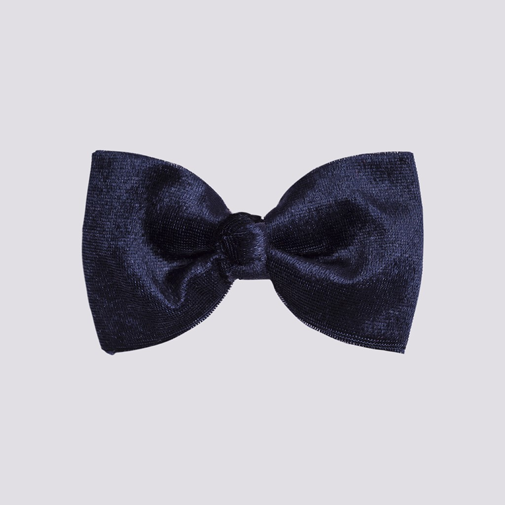 lillybilly-velvet-grand-bow-barrette-dark-blue